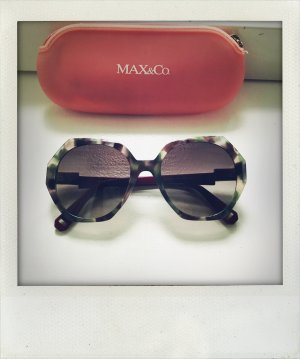 MAX & CO oversize Sonnenbrille neuwertig camouflage