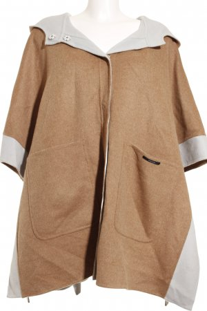 Max & Co. Oversized Mantel camel-hellblau Casual-Look