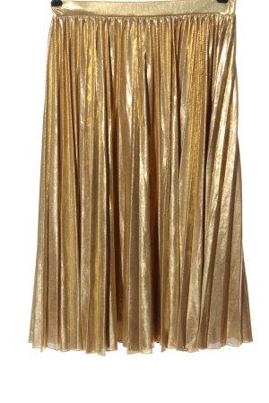 Max & Co. Falda plisada color oro elegante