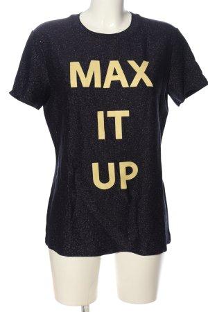 Max & Co. Print-Shirt Schriftzug gedruckt Casual-Look