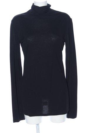 Max & Co. Colshirt zwart zakelijke stijl