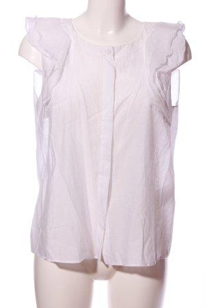 Max & Co. Camicetta con arricciature bianco stile professionale