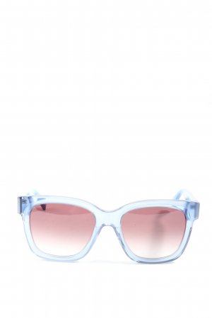 Max & Co. Ronde zonnebril blauw-roze casual uitstraling