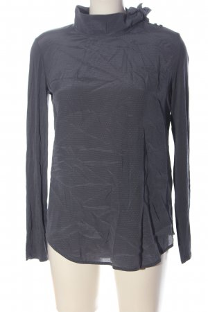 Max & Co. Silk Blouse light grey flecked casual look
