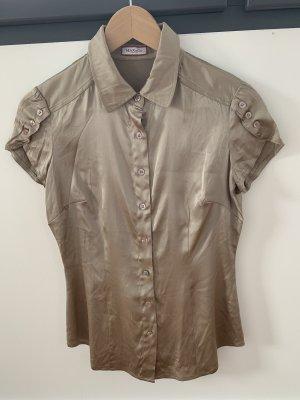 Max & Co. Połyskująca bluzka beżowy