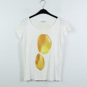 Max & Co Shirt Gr. M weiß gemustert (19/12/045)