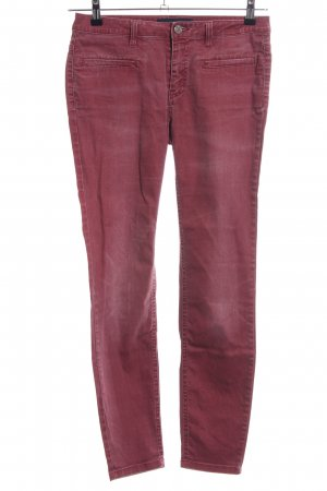 Max & Co. Skinny Jeans rot Casual-Look