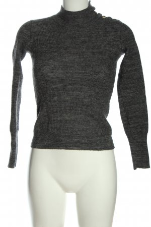 Max & Co. Strickpullover hellgrau meliert Casual-Look