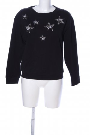 Max & Co. Sweatshirt schwarz Business-Look