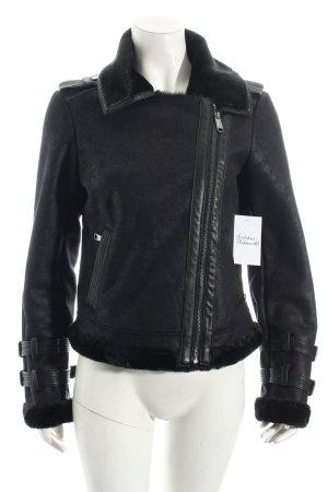 Max & Co. Chaqueta de invierno negro look casual