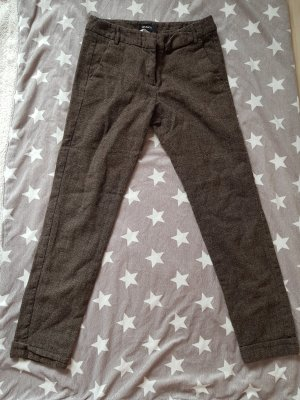 Max & Co. Peg Top Trousers anthracite-brown