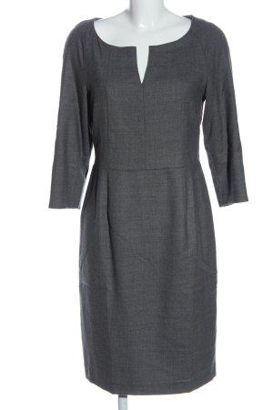 Max & Co. Vestito di lana grigio chiaro puntinato elegante