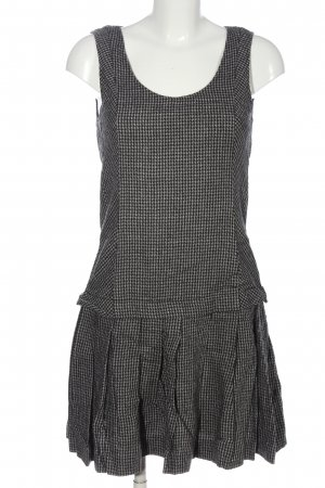 Max & Co. Woolen Dress black-white abstract pattern casual look