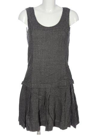 Max & Co. Wollkleid schwarz-weiß abstraktes Muster Casual-Look