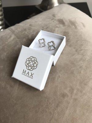 MAX Srebrne kolczyki srebrny