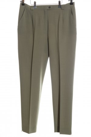 Max Faber Stoffhose khaki Business-Look