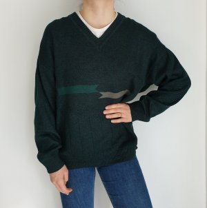 Max Ferre green XL Cardigan Strickjacke Oversize Pullover Hoodie Pulli Sweater Top True Vintage