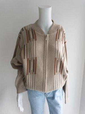 Max Ferre L Cardigan Strickjacke Oversize Pullover Hoodie Sweater Pulli True Vintage