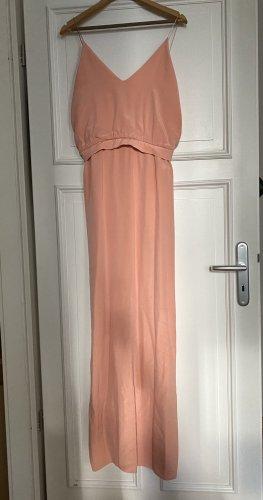 Max Mara Abendkleid Seide Maxi Kleid 40 M/38 Koralle w neu 1600€