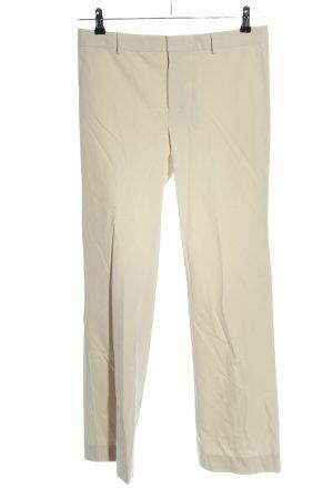 Max Mara Pantalon de costume blanc cassé style d'affaires