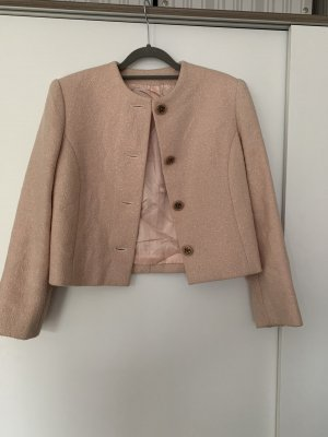 Max Mara Blazer Tweed rosa claro