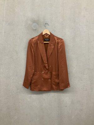 Max Mara Boyfriend blazer donkerrood-donker oranje