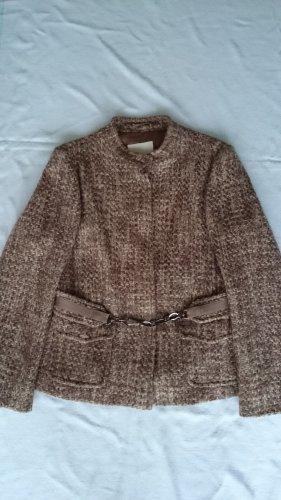 Max Mara Tweed blazer veelkleurig Mohair