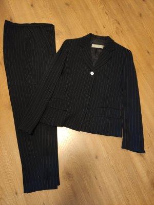 Max Mara Tailleur-pantalon blanc-noir