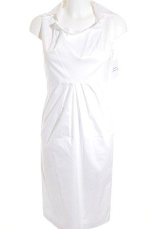 Max Mara Blusenkleid weiß Elegant