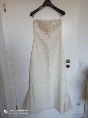 Max Mara Vestido de novia crema