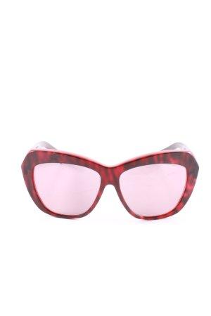 Max Mara Glasses red leopard pattern casual look