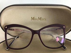 MaxMara Bril bruin-paars