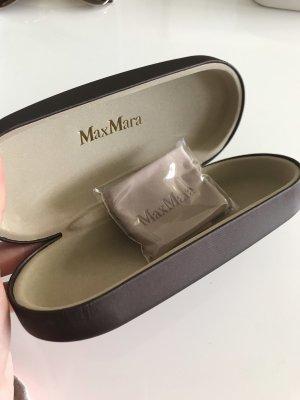 Max Mara Brillenetui Braun Neu eingepacktes Tuch