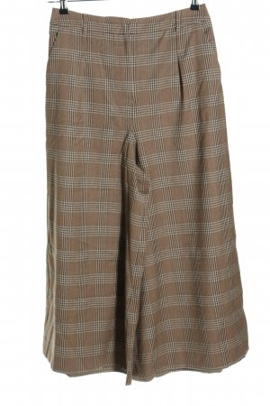 Max Mara Culottes Karomuster Business-Look