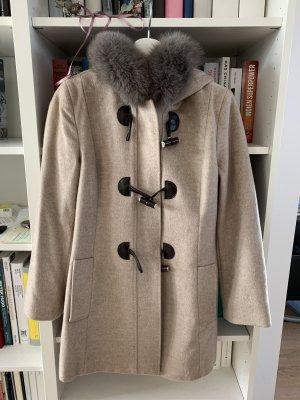 Max Mara Duffle-coat beige clair-gris clair