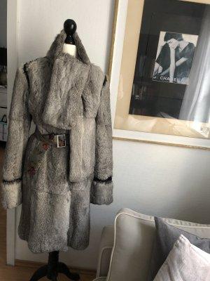 Matthew williamson Pelt Coat grey