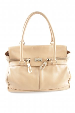 Max Mara Henkeltasche creme Business-Look