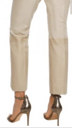 Max Mara Pleated Trousers cream-oatmeal