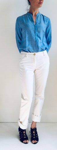Weekend Max Mara Straight Leg Jeans white