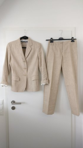 Max Mara Trouser Suit cream-oatmeal