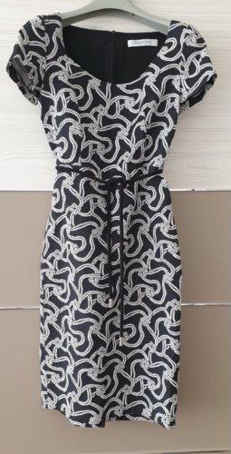 Max Mara Ołówkowa sukienka biały-czarny
