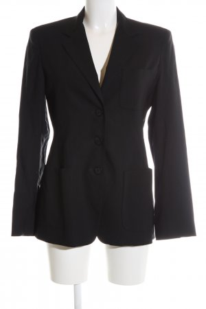 Max Mara Kurz-Blazer schwarz Business-Look
