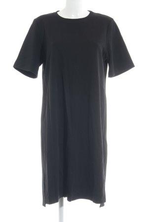 Max Mara Kurzarmkleid schwarz schlichter Stil