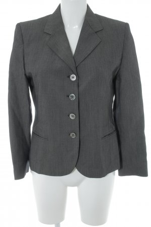 Max Mara Long-Blazer dunkelgrau Business-Look