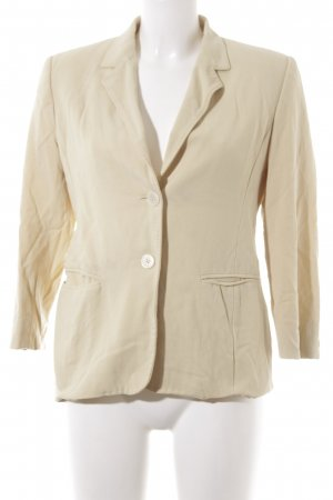 Max Mara Long-Blazer hellgelb Casual-Look