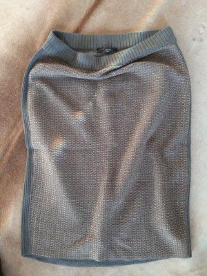 Max Mara Knitted Skirt light brown-natural white