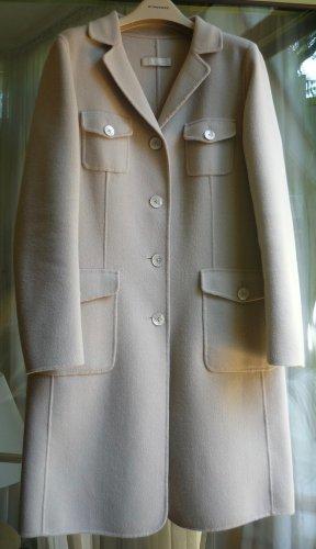 Max Mara Wollen jas licht beige Wol