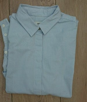 Max Mara Camicia blusa azzurro-bianco