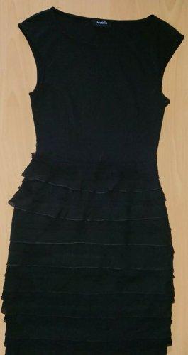 Max mara, Max & Co, Gr. S, Schwarzes Kleid, Luxus, Rüschen