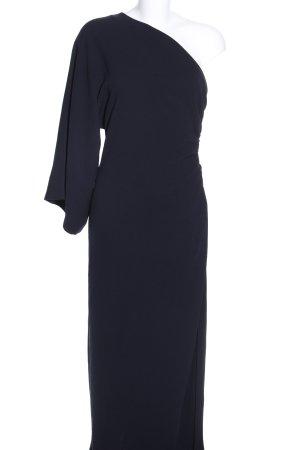 Max Mara One-Shoulder-Kleid schwarz extravaganter Stil
